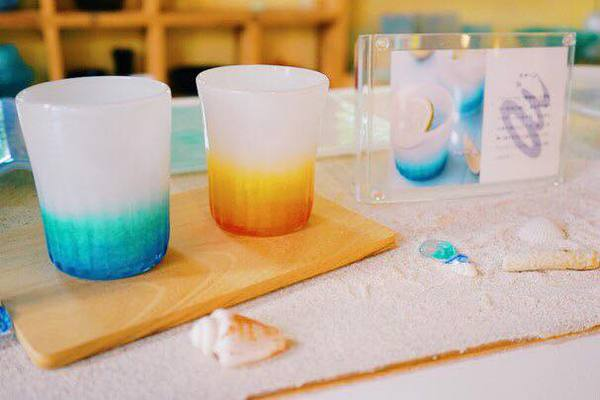 グラスアート藍